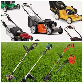 We buy Lawn Mowers and Weed Eaters Petrol or Electrical
