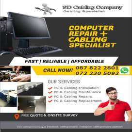 Structured Cabling | Network Cable Installation | Fiber Installation