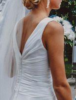 Suknia ślubna 36 XS S salon Warszawa BUTY WELON GRATIS sukienka grecka