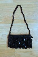 Сумка, маленькая сумочка, клатч черная ручная работа Hand Made