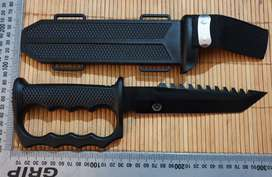 Trench dagger with ABS sheath