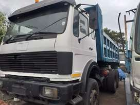 MERCEDES BENZ 2637 10 CUBE TIPPER IN RUNNING CONDITION R145000