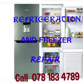 Refrigerators services and repair