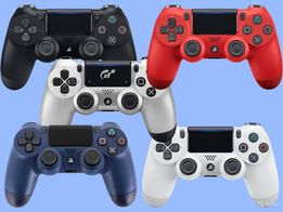 Геймпад Sony Dualshock 4 V2 Black/Blue/Red/White/FC/Gold/Steel Black