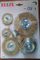 Металлические щётки для дрели