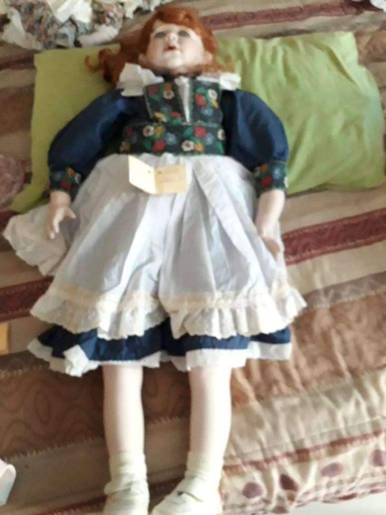 Authentic Porcelain bisque dolls by Rose Marie Strydom 0