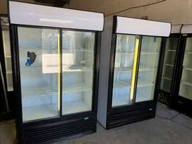 Refurbished second hand display fridges