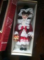 Lalka porcelanowa kolekcjonerska Czerwony kapturek