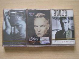 Продам нові аудіокасети Sting, 3 штуки