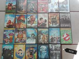 Second hand DVDs