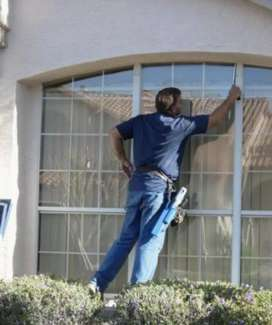 Window cleaning of homes ,guest-houses ,lodges etc.