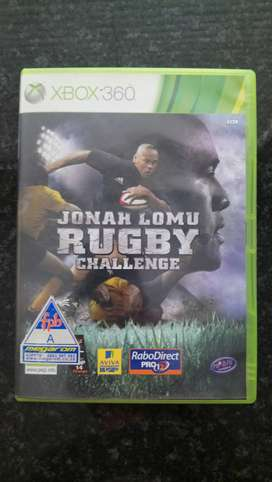 Jonah Lomu Rugby Challenge Xbox 360 game