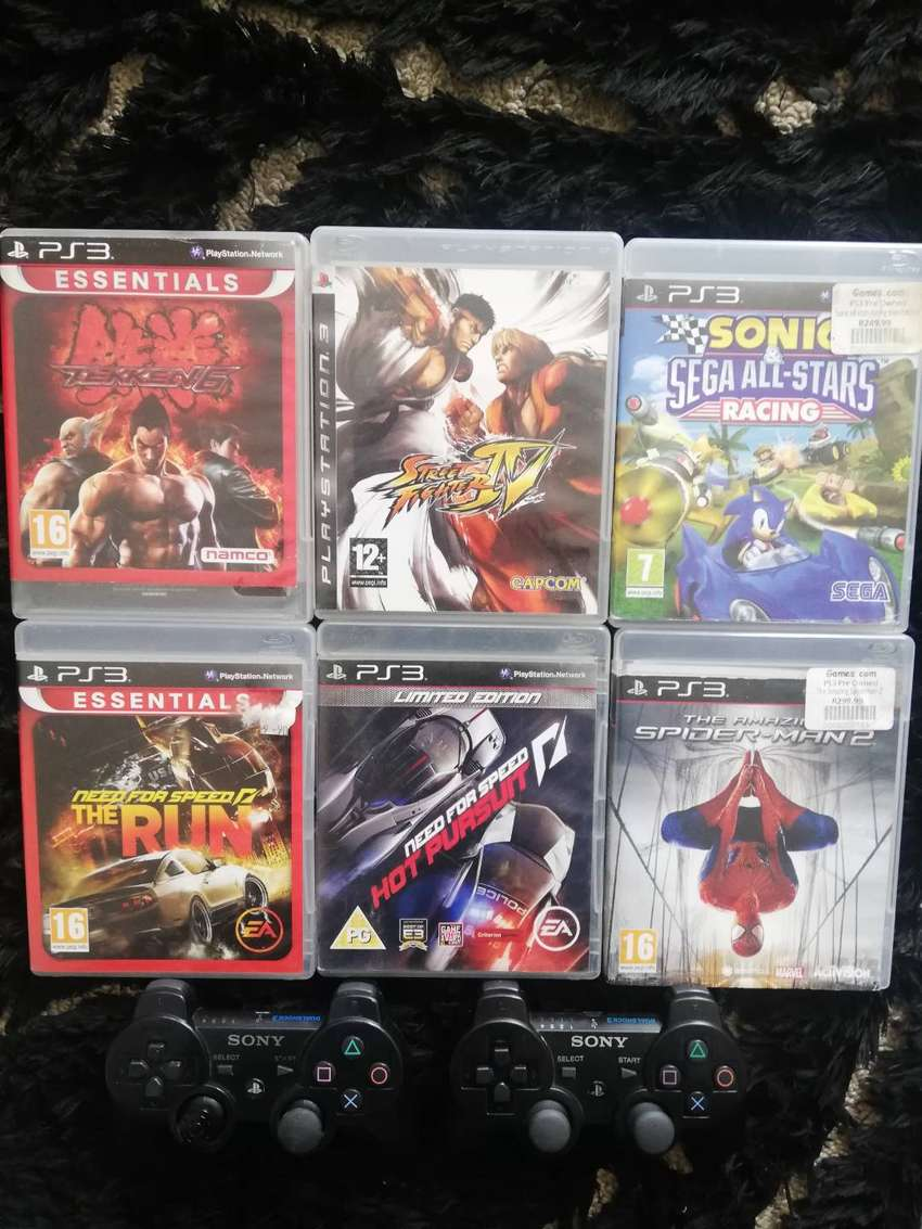 PS3 Games & Controllers 0
