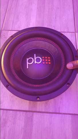 "Power bass 10"" x2 and pb amp"