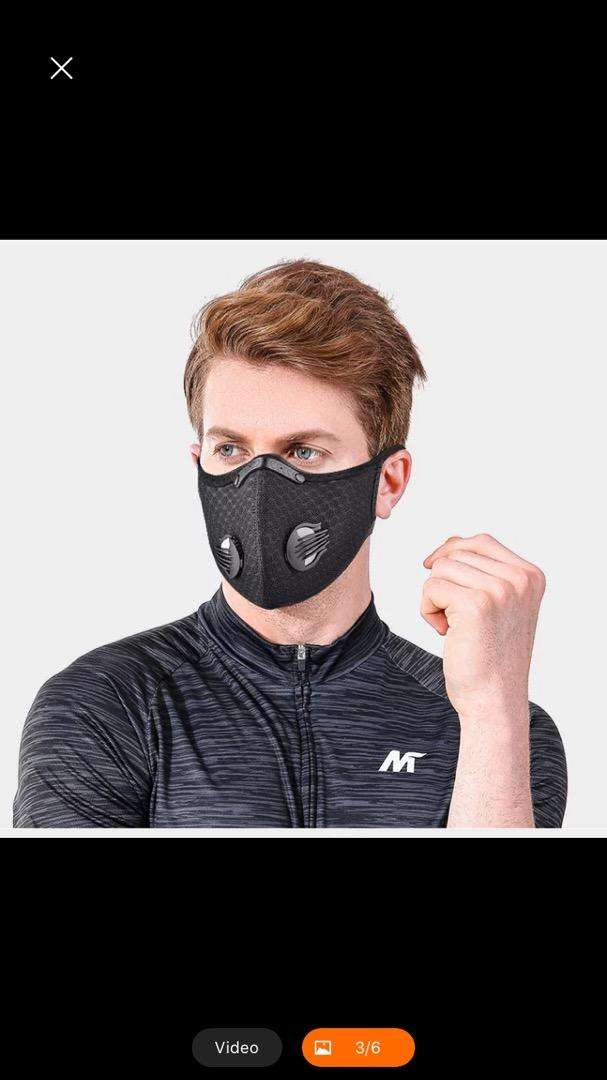 Cycling Jogging Valve Mask 0