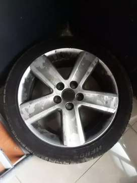 """Tdi rims for sale 16"""" with tires"""
