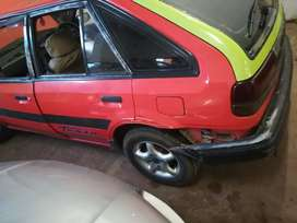 Am Stripping Ford laser  1995 model manual for spares 1.3 cabrator
