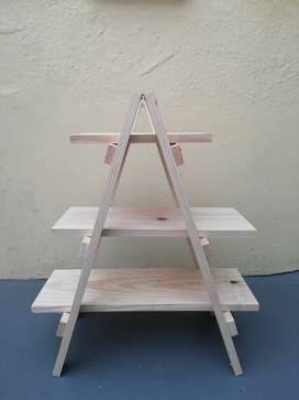 A frame 3 tier stand
