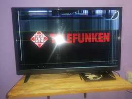 28inch Telefunken flat screen tv, less than a year old