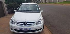 Mercedes B 200, owned by elderly person, excellent condition,