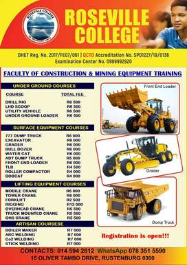 Mining and Construction Equipfment Training