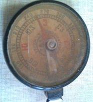 компас карболитовый 1950-х годов из ссср,хорошее б/у