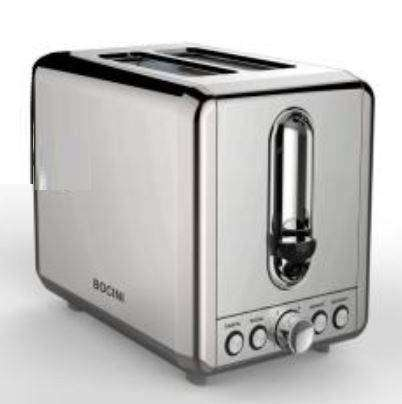 Brand New Bread & Bagel Toaster-4 function  / reheat / defrost /