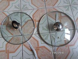 Крышка стеклянная для кастрюли 24 25 26 см без сколов и трещин кришка