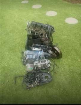Opel corsa 1.4 complete engine