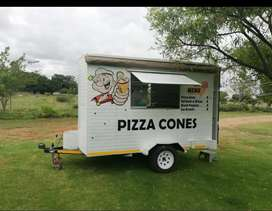 Pizza Cone/Food Trailer For Sale