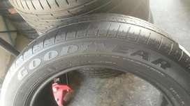 2×235/55/18 two GOODYEAR tyres for sale