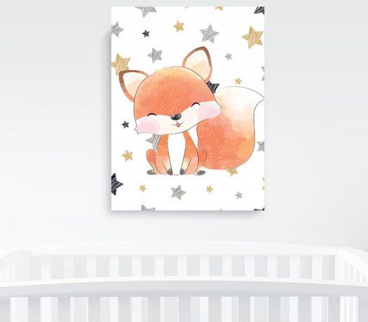 Obrazek A4 plus ramka, Baby Fox Pszczyna - image 7