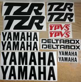 1987 Yamaha TZR 125 ( 2RK model ) decals sticker kits