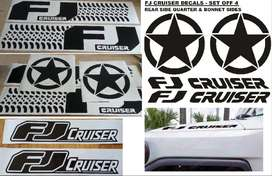 FJ Cruiser decals sticker kits