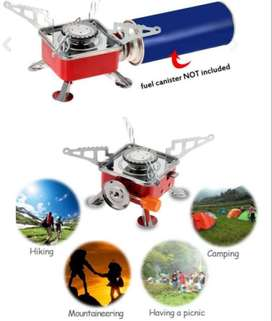 New! Outdoor Portable Gas Stove Burner
