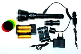Фонарь мощный Police BL-Q 3888 XM-T6 158000W (для охоты)