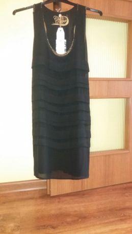 Sukienka mała czarna nowa z metką Warka - image 1
