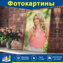 Печать на холсте 1-2дня рисунок по фото портрет картина БЕСПЛ ДОСТАВКА