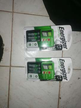 Energizer rechargeable batteries with charger