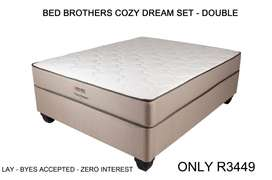 Bed Brothers Cozy Dream Set - Size Double