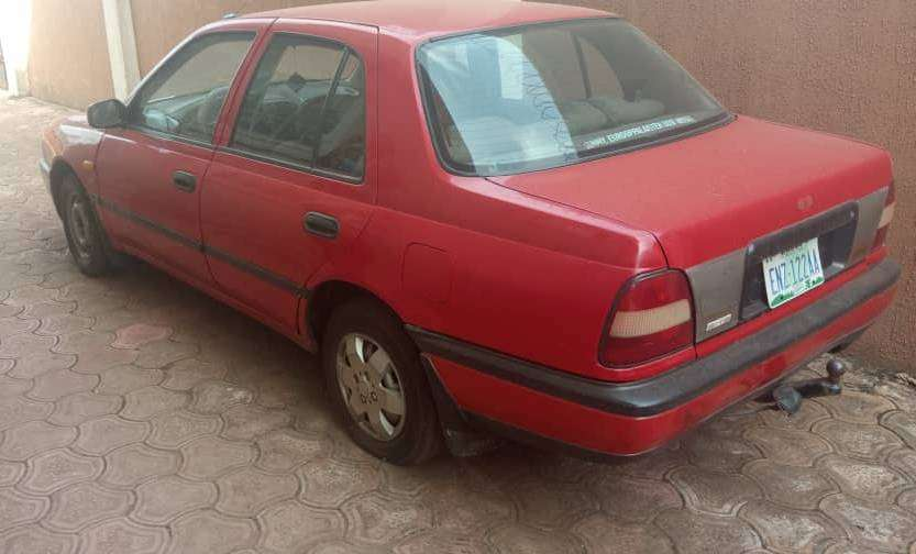 Neatly used Red Nissan Sunny XLE 0