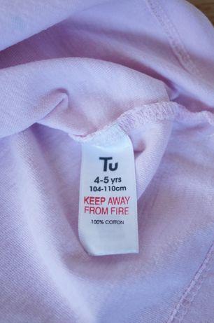 Bluzeczka świąteczna marki TU aplikacja z brokatem roz . 110 4-5lat Gdańsk - image 6