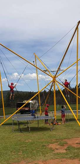 Four-trampoline Bungee For Sale