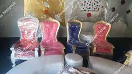 Kiddies Throne Chairs now available in PINK, BLUE and White