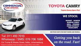 Toyota Camry Parts and Spares For Sale