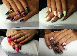 Paznokcie żelowe / HYBRYDA / manicure hybrydowy 50zł / pedicure /TANIO