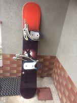Deska snowboardowa HEAD 145 cm z wiązaniami