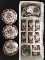 Chińska porcelana, zestaw kawowy