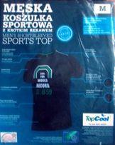 Męska koszulka sportowa (M)