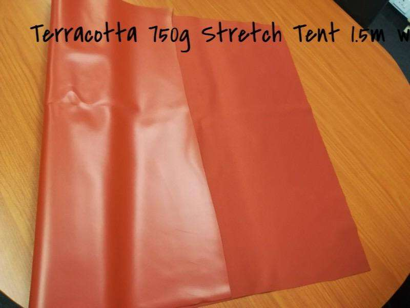 Stretch tent 6x12m R6999 terracotta 0